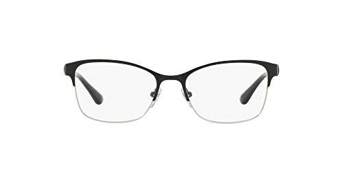 Vogue Damen 0Vo4050 Brillengestell, Mehrfarbig (schwarz/Silber), 66