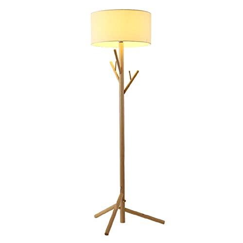 HXJU Lámparas de trípode de pie, lámpara de pie y Lectura LED, luz de Lectura para Sala de Estar, Dormitorio, Sala de Estar, Dormitorio, Oficina (180 cm) Yellow Light
