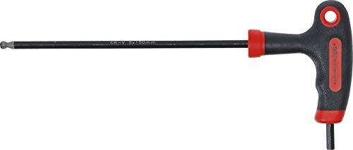 BGS Diy 7882-5 | Schraubendreher mit T-Griff und seitlicher Klinge | Innensechskant/Innensechskant mit Kugelkopf 5 mm