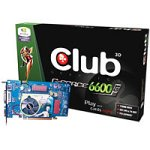 Club 3D NVidia GeForce 6600 GT Grafikkarte PC6600GT 128MB DDR Ram (PCI-Express 128MB GDDR3 DVI/TVO 500/500MHz 128-bit Retail)