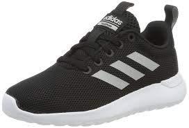 adidas Kid's Unisex Lite Racer CLN White/Black/Black 4