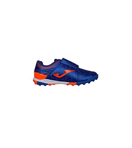 Zapatillas Niño/a Joma Xpander Jr Turf Azul/Naranja XPJS2104TFV