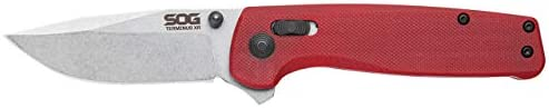 SOG TM1023 CP Terminus XR G10 Folding Knife with Crimson Handle product image