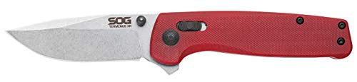 SOG TM1023CP Terminus XR G10 Folding Knife with Crimson Handle