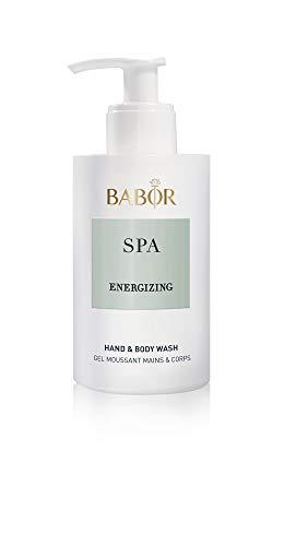BABOR SPA Energizing Hand & Body Wash, erfrischendes Hand- und Körperwaschgel, für ein angenehmes Frischegefühl, 1 x 200 ml