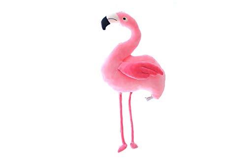 Bias&Belief Flamingo Peluche muñeca Rosa niña Novia Vacaciones Regalo de cumpleaños Regalo de decoración 60 cm