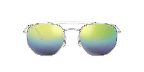 Ray-Ban Unisex-Erwachsene 0rb3648 003/I2 51 Sonnenbrille, Grau (Plata)