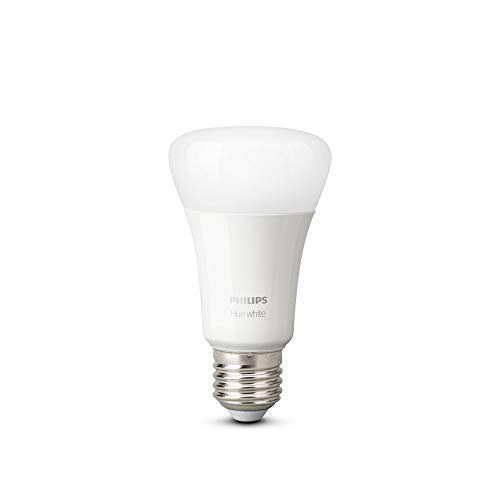 Philips Hue Connected LED Bulbs Warm White E27 Bluetooth Compatible, Works with Alexa Pack of 2