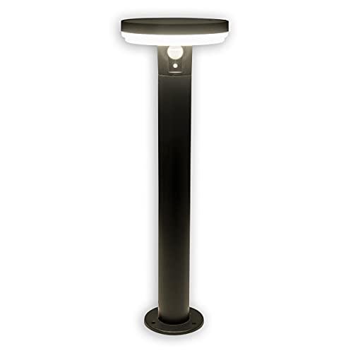 Näve Lámpara solar de pie con forma de seta.