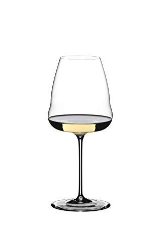 Riedel Winewings Sauvignon Blanc - Copa de vino (mango único, transparente)