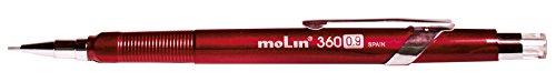 Molin - Confezione da 12 portamine in metallo 0.9 mm metallico