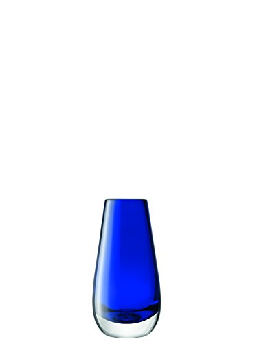 LSA Vase Flower In Cobalt 14 cm, Moderne und stilvolle, Home Décor