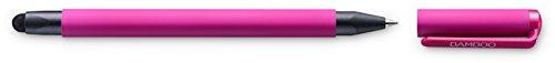 Bamboo Duo CS-191 kapazitiver Stylus (4. Generation, mit Kugelschreibermiene, geeignet für iPad und iPhone) pink