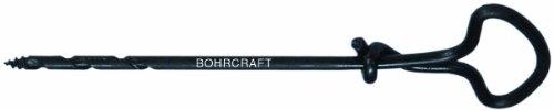 Bohrcraft–Brocas uñas anillo con mango, bruñido, 4x 130mm de Lose/del paquete, 1pieza, 35001504130
