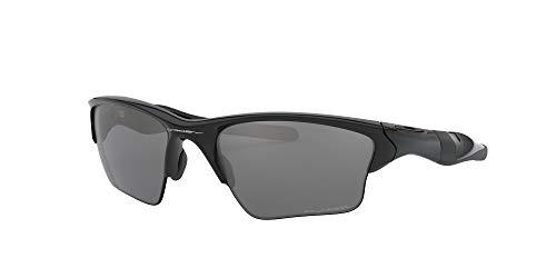 Product Image 2: Oakley Men's OO9154 Half Jacket 2.0 XL Rectangular Sunglasses, Polished Black/Black Iridium Polarized, 62 mm