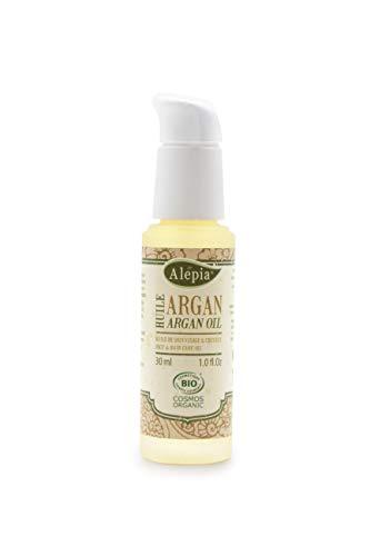 Alepia: Huile d'Argan Flacon Luxe Bio 30ml; 100% Naturel, Cosmos Bio Certifié; réparatrices, Nourrissants et Anti-Oxidants