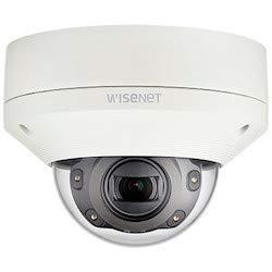 Hanwha Techwin XNV-6081R 2MP Vandal-Resistant Outdoor IR Network Dome Camera, 2.8~12mm (4.3X) Motorized varifocal Lens, Weatherproof, RJ45 Connection