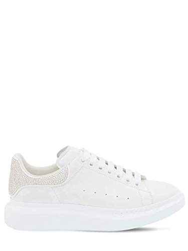 Alexander McQueen White Studded Oversize Sneakers/Authentic (Numeric_10_Point_5)
