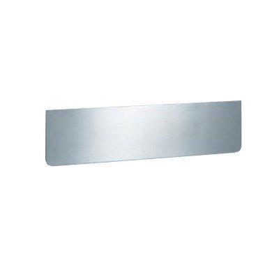 Serafini binnenklep lengte 325 mm van roestvrij staal V4A 8 x 32,5 x 0,15 cm