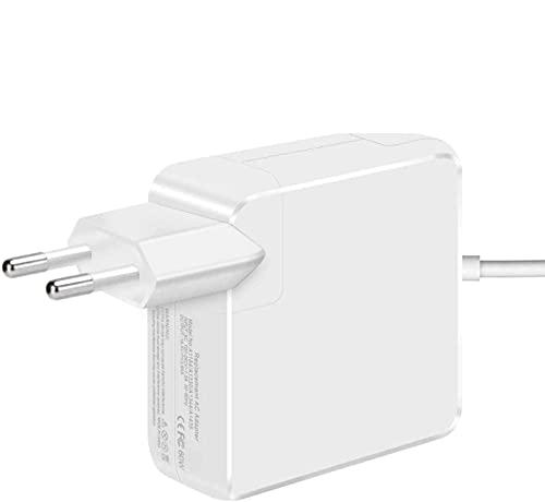 Ywcking Chargeur pour ordinateur portable, Remplacement 60W Chargeur Mac Pro connecteur magnétique T-Tip , Compatible avec Mac Pro Retina A1425, A1435, A1502, A1465, 11 Pouces et 13 Pouces 2012-2015