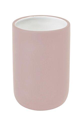 Zahnputzbecher Cleo Aquanova Mint Rosa oder Sorbet, Farbe:Pastellrosa