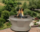 Best Deals! California Outdoor Cardiff - Sage - Fire Pit - Smoked Glass - LP Gas