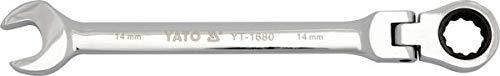Yato Yt-1676 – Flexible Clé à cliquet réversible 10 mm