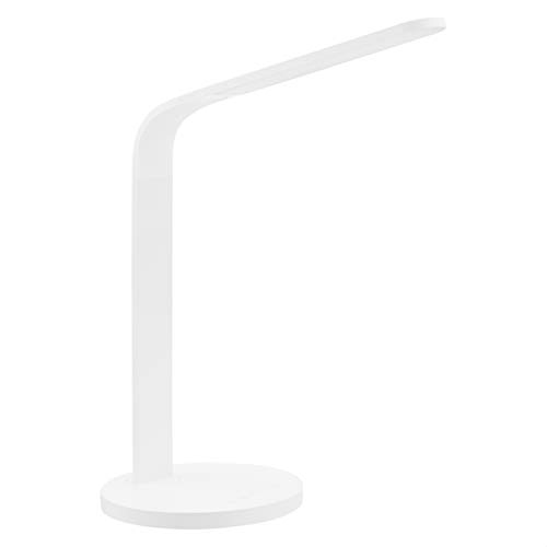 USB Rechargeable Silver Luxe Lamp Touch Control Luxe Cordless Eye Friendly LED Desk Lamp 6 Brightness Levels 3 Light Modes up To 40 Hours of Continuous Light 360 Adjustable Modern Design Portable