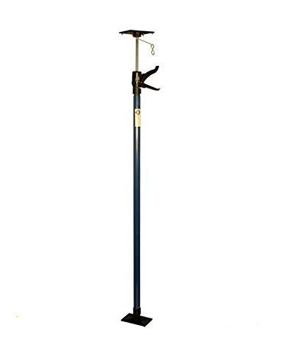 Teleskop-Türspanner, Montagestütze, Einhandstütze, Deckenstütze - Dritte Hand 115-290cm BLAU (1)