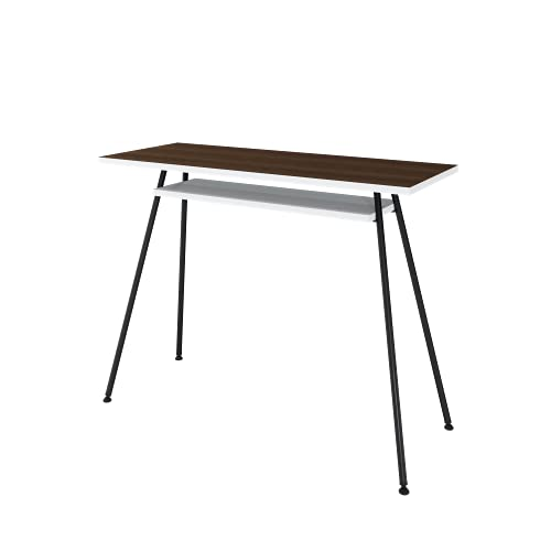 LEVIRA - Mesa de Oficina, Escritorio, Mesa de Ordenador, Kost Colors - 100 x 75 - Negro