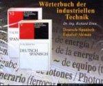 Wörterbuch der industriellen Technik. Deutsch-Spanisch. CD-ROM für Windows ab 95. Deutsch-Spanisch / Spanisch-Deutsch. 406.000 Termini.