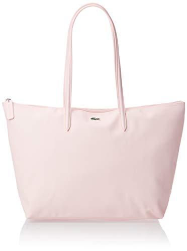 Lacoste womens L.12.12 Tote Shoulder Handbag, Flamant, One Size US