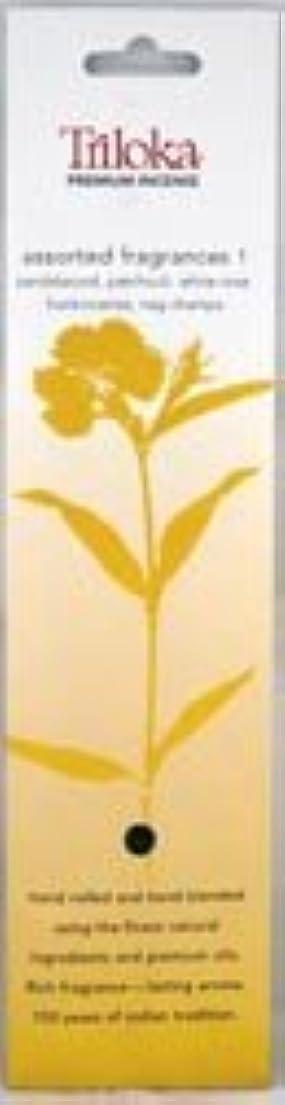パイ間欠湿地TrilokaプレミアムアロマセラピーIncense?–?Assorted Fragrancesグループ1