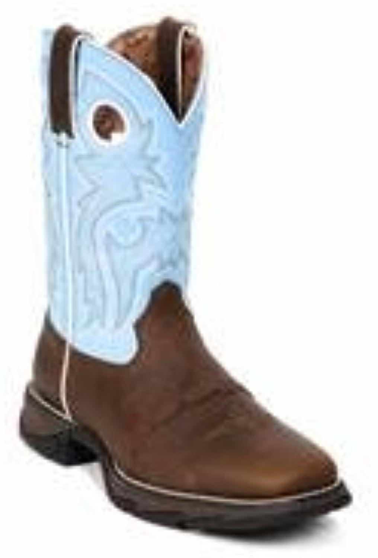 Durango Flirt Women's 10  Brown Powder n' Lace Western Boot-RD3471
