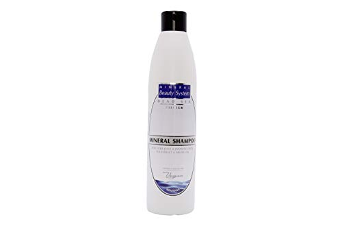 Totes Meer Mineral Shampoo, 500 Ml - Anti Schuppen, Haar Pfleges, Gegen Juckende Kopfhaut Für Männer Und Frauen, By Mineral Beauty System