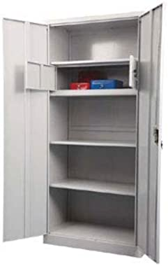 PAN Steel Cupboard for Office Filing Purpose with a Locker