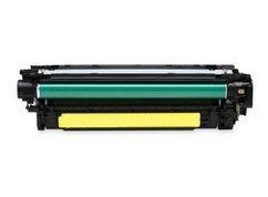 Eurotone Toner Yellow remanufactured für HP Color Laserjet CP3525 CM3530 - CP 3525 cm 3530 – Alternative ersetzt HP 504A & CE252A