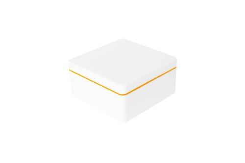 ajaa! Aufbewahrungsbox aus nachhaltigem Biokunststoff - 0,6 Liter - mandarin