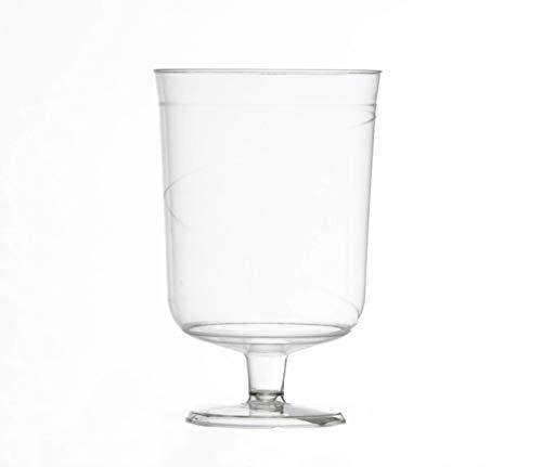 Wegwerp Plastc Wijnglas x 48