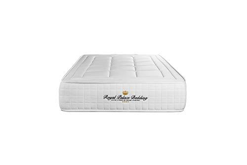 Materasso Balmoral 90 x 220 cm, Spessore : 24 cm, Memory foam, Rigido, 3 zone di comfort