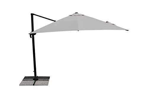 Maffei Art 226 Parasol deporté carré cm 300x300. Made in China. Couleur Ecru