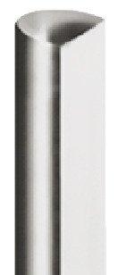 Gedotec Drehstange Metall Profilstange für Drehstangen-Schloss für Schrank-Türen & Möbel | Stangen-Ø 6 mm | Stahl vernickelt | Länge: 2000 mm | 1 Stück - Stange für Kleiderschrank Möbelschlösser