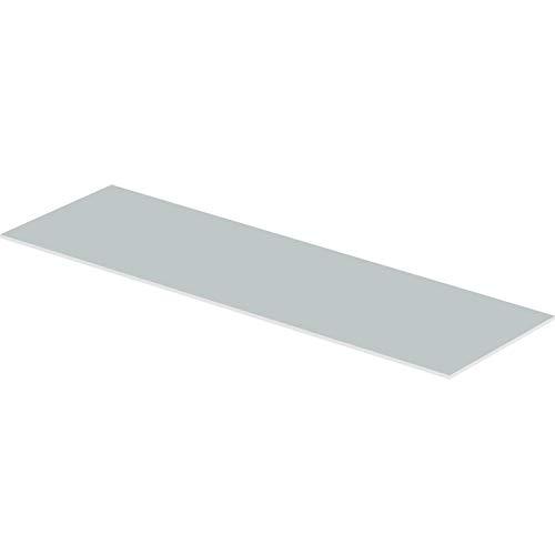 Panel inactivo Renovis, yeso reforzado con fibra de 15 milímetros, para completar espacios no cubiertos con paneles activos, color gris (referencia 1063926)