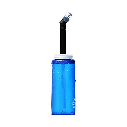 spier Botellas de agua de poliuretano termoplástico, plegables, suaves, 350 ml, sin BPA, para correr, senderismo, ciclismo, escalada