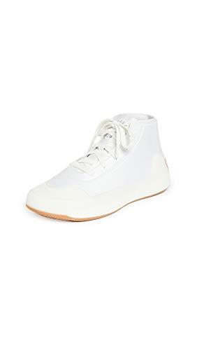 adidas by Stella McCartney Women's Asmc Treino Mid Sneakers, Ftwwht/Owhite/Pearos, White, 9.5 Medium US