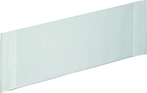 roba Bettverkleinerer, Verkleinerung f, Babybetten 60x120 cm, Baby-Nestchen Canvas weiß