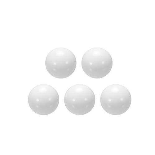 sourcing map 10Stk. Münzring Hersteller Kugeln POM Kunststoff Ball 12mm