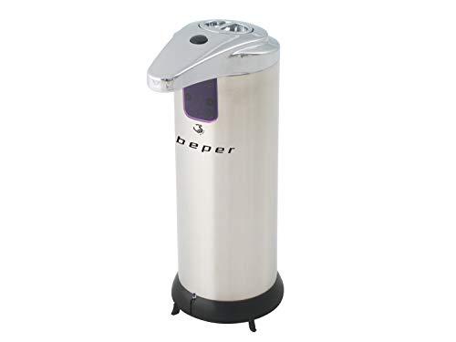 Beper 40.931 Dispenser Sapone Automatico, Dispenser sensore Infrarossi, Dispenser Igienico