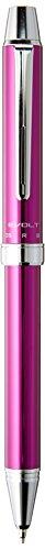 Pilot 2 +1 Evolt 2 Color 0.7 mm Ballpoint Multi Pen 0.5 mm Mechanical Pencil, Violet Body (BTHE-1SR-V)