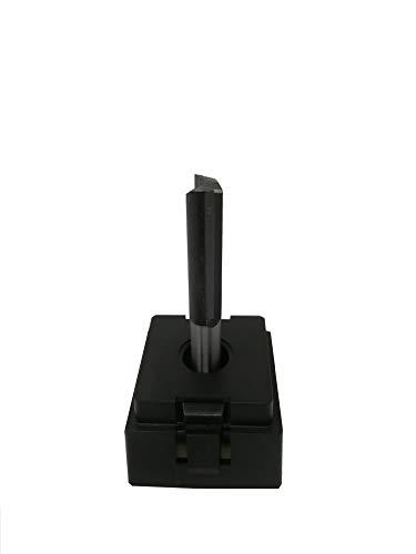jjw-germany HW HM Oberfräser Nutfräser Z= 2 lang D= 12 mm NL 38mm lang, mit HM - Grundschneide und 8mm Schaft